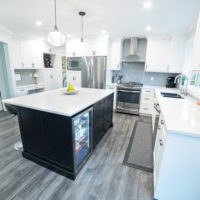 Contemporary Kitchen Renovation by DINOVO Homes and Renovations
